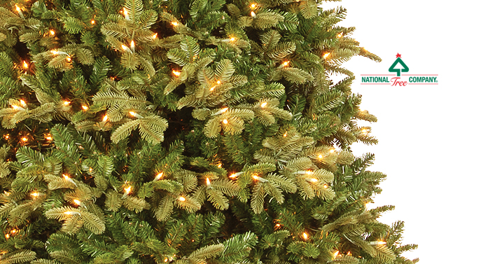 national tree company offers one of the largest selections of artificial christmas trees available today with so many shapes styles and sizes to choose - National Christmas Tree Company