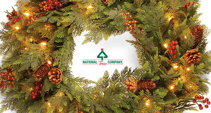along with our wide range of tree choices national tree company offers an equally large - National Christmas Tree Company