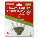 LED Replacement blister Bulbs - 4 Pack / Soft White