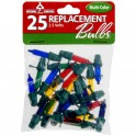 Replacement Bulbs - 25 Pack / Multi-Color